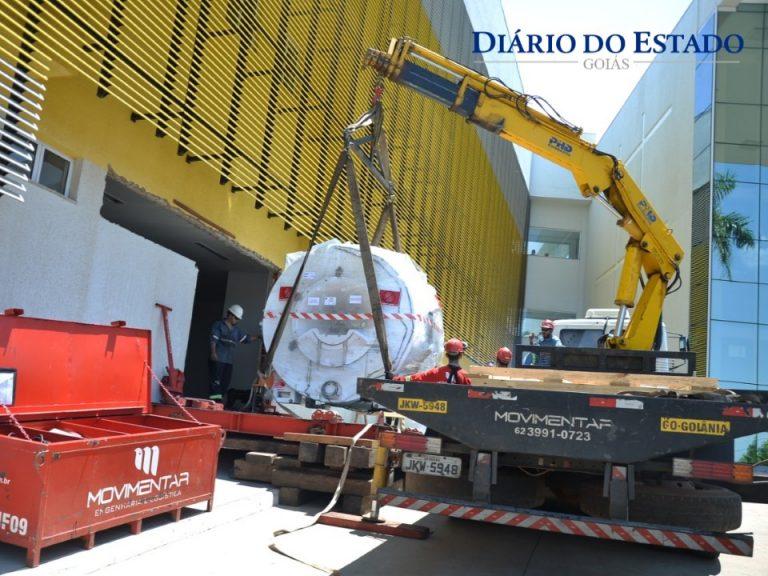 Nova máquina de ressonância magnética chega ao HMAP