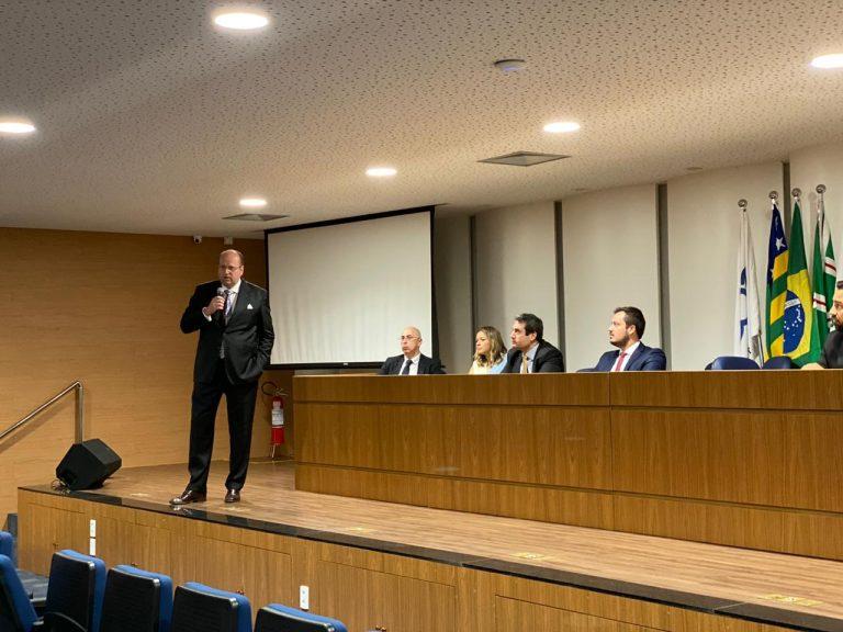 Goiânia recebeu ontem o CEO do maior escritório de advocacia da América Latina