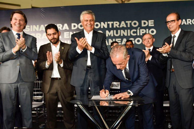 Saneago renova com Prefeitura de Goiânia por 30 anos