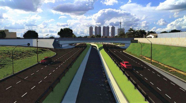 Iris lança construção da ponte da Leste-Oeste sobre a Marginal