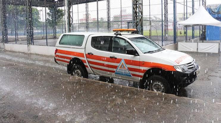 Defesa Civil do Rio de Janeiro acompanha evolução de ciclone
