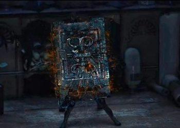 O possível Darkhold visto em WandaVision (Imagem: Reprodução/Disney+)