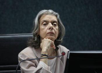 Ministra Carmem Lúcia preside a sessão do Conselho Nacional de Juastiça. Brasília, 03-04-2018. Foto: Sérgio Lima/Poder 360