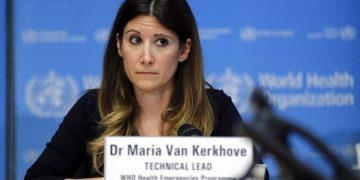 Maria Van Kerkhove, diretora técnica do programa de emergências da OMS
