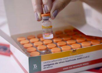 Paraná imunizado, distrubuição das vacinas para regionais de saúde no Cemepar Foto: Gilson Abreu/AEN 19.01.2021