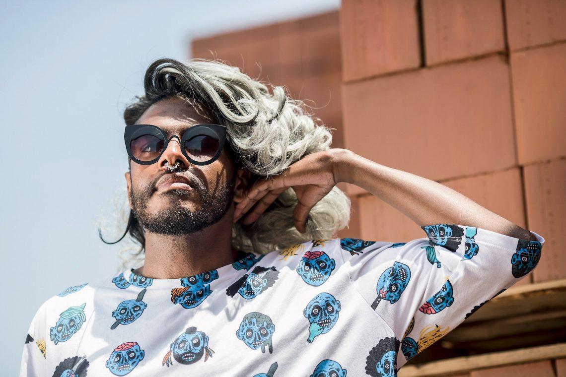 Rico Dalasam, rapper paulistano.