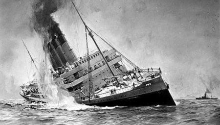 Biggest Shipwrecks - RMS Lusitania